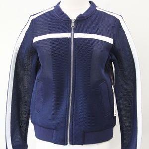 Willow & Clay Bomber Jacket Womens Coat New Mesh